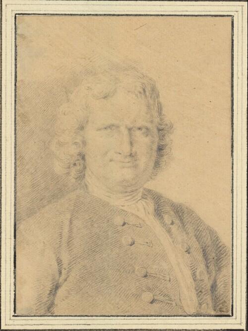 Selbstporträt (Brustbild) von Cornelis Pronck