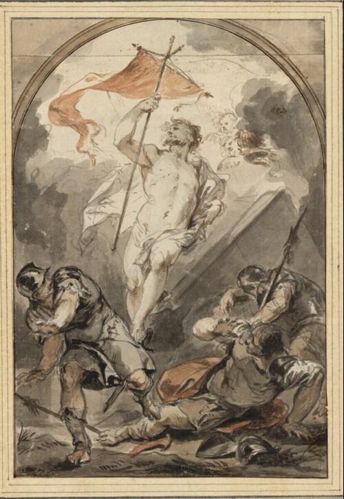 Auferstehung Christi von Jacob de Wit