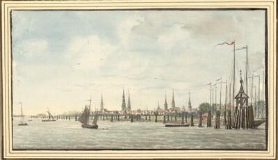 Blick auf Hamburg von François Lefèbvre