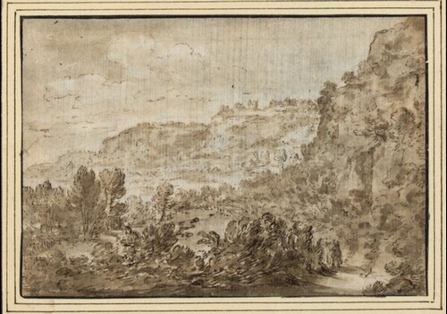 Landschaft mit Baumgründen von Jean Lemaire