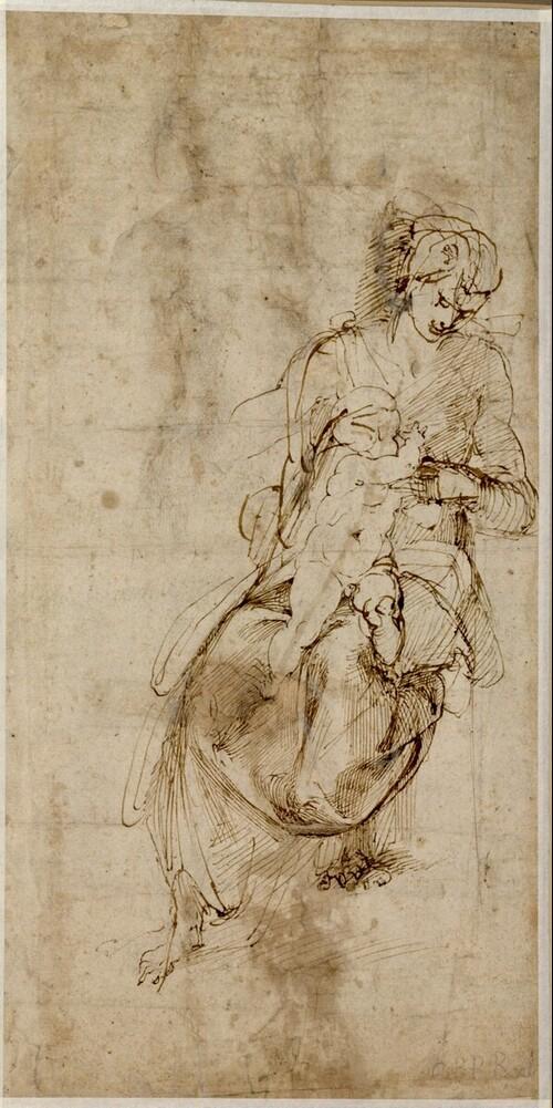 Maria mit dem Kind an der Brust (Maria lactans)