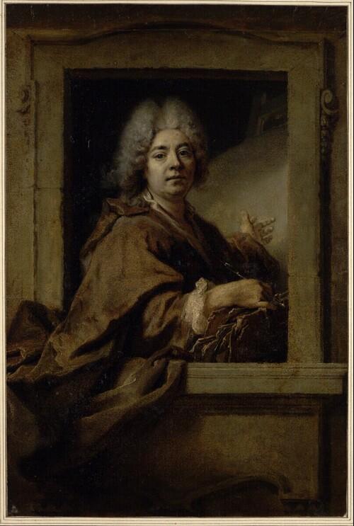 Selbstporträt des Künstlers von Nicolas de Largillière