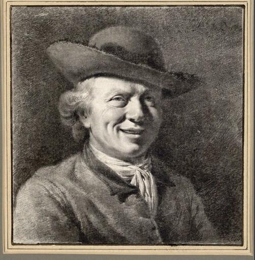 Selbstporträt Boissieus von Jean Jacques de Boissieu