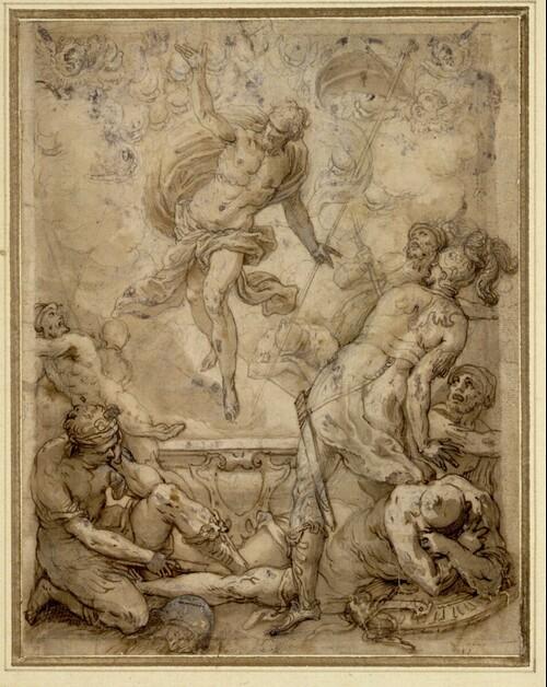 Christi Auferstehung von Mittelitalienischer Manierist