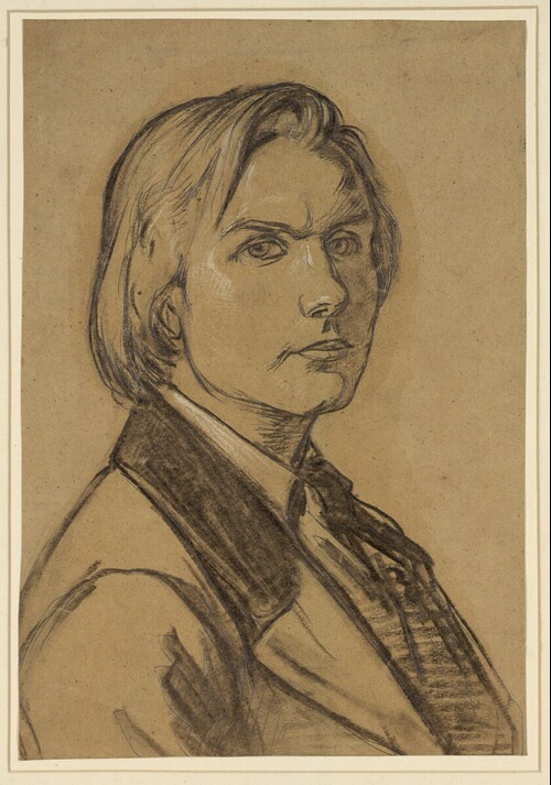 Selbstporträt von August Leopold Venus