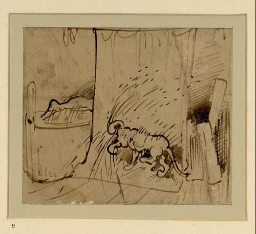 Das warme Bad (9) von Wilhelm Busch