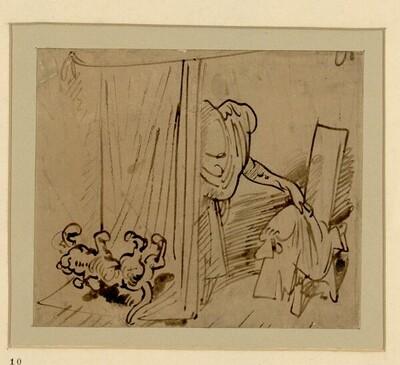 Das warme Bad (10) von Wilhelm Busch
