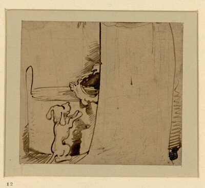 Das warme Bad (12) von Wilhelm Busch