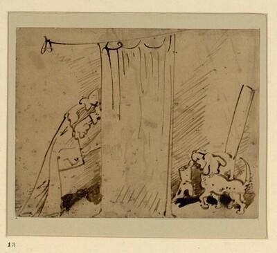 Das warme Bad (13) von Wilhelm Busch