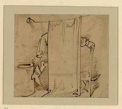 Das warme Bad (14) von Wilhelm Busch