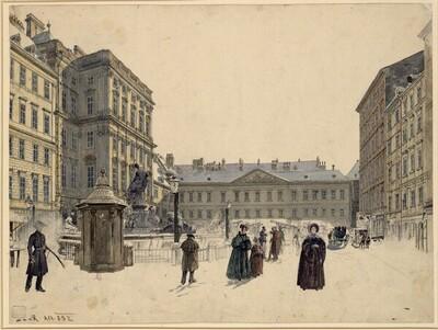 Der Neue Markt in Wien von Rudolf von Alt