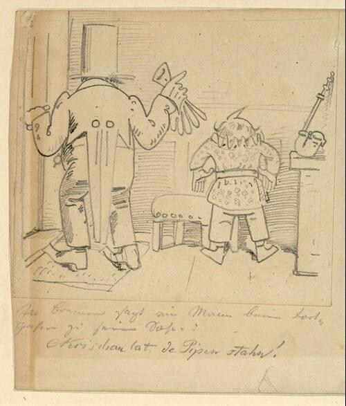 Krischan mit der Piepe 1 von Wilhelm Busch