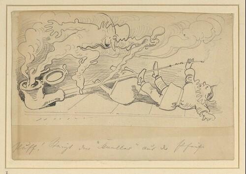 Krischan mit der Piepe 7 von Wilhelm Busch