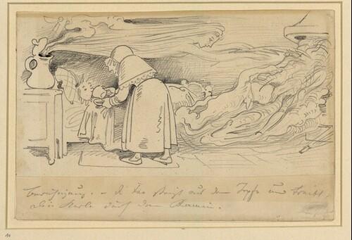 Krischan mit der Piepe 13 von Wilhelm Busch