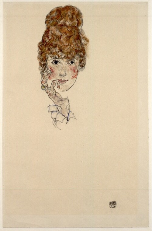 Porträt Edith Schiele