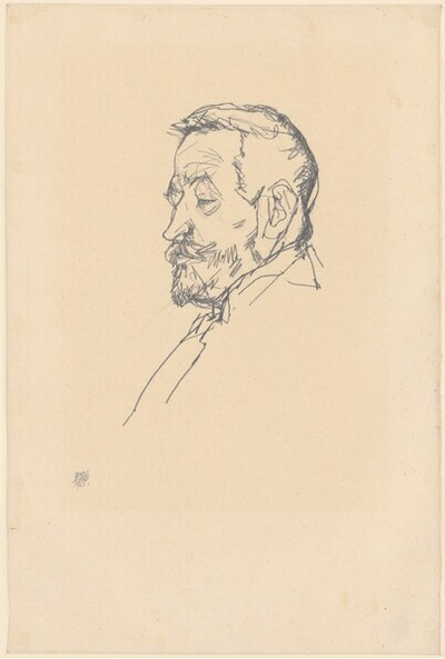 Porträt Heinrich Benesch