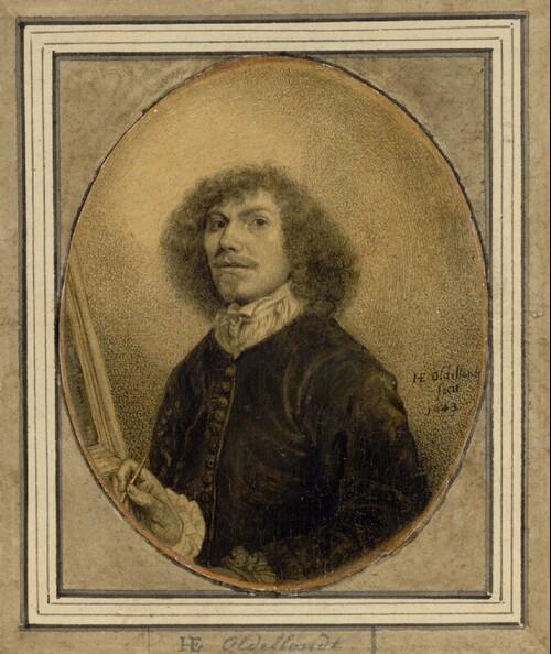 Selbstporträt des Künstlers von Hendrik E. Oldellandt