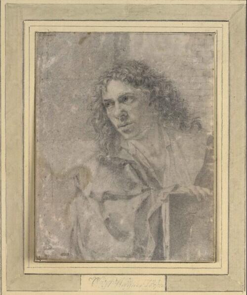 Selbstporträt des Künstlers von C.A. Wagner
