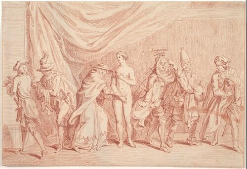 Allegorie auf Maria Theresia und den Österreichischen Erbfolgekrieg