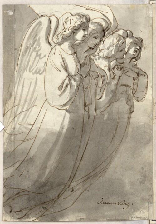 Schwebende Engel von Friedrich von Amerling