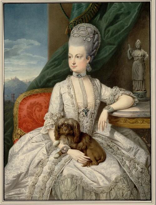 Marie Christine, Erzherzogin von Österreich, Gemahlin des Herzogs Albert von Sachsen-Teschen von Eduard Klieber