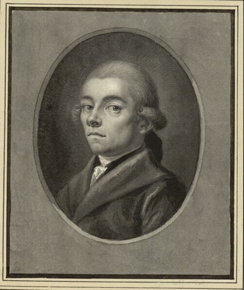 Selbstporträt von Johann Heinrich Lips