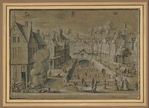 Der Winter von Frederik van Valckenborch