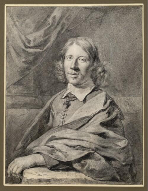 Selbstporträt, halbfigurig von Cornelis Visscher