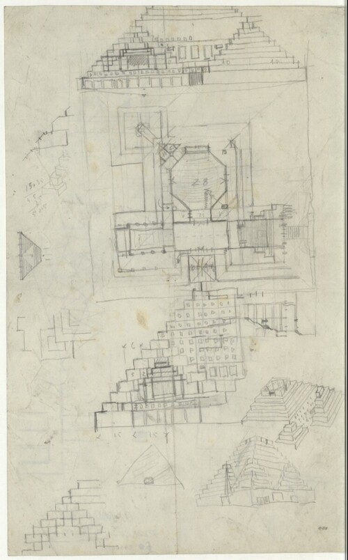 Rathaus In Mexico Wahrscheinlich Fur City Skizzen