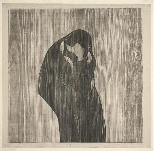 Der Kuss IV von Edvard Munch