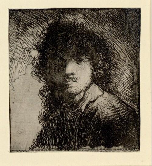 Selbstporträt Rembrandts von Rembrandt Harmensz. van Rijn