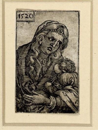 Heilige Jungfrau mit dem Kinde von Barthel Beham