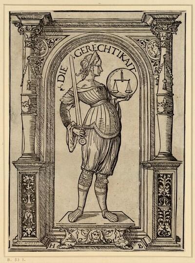 Die Gerechtigkeit von Hans Burgkmair d. Ä.
