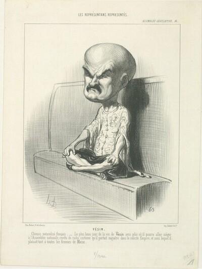 Émile Vésin von Honoré Daumier