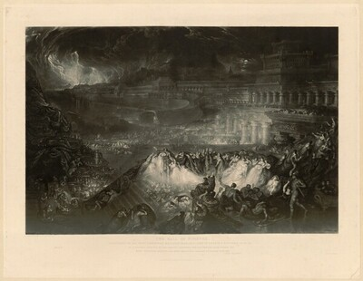 The Fall of Nineveh von John Martin