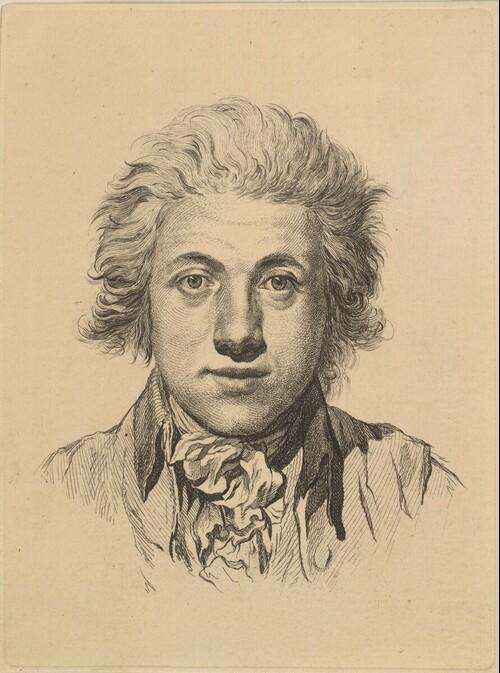 Selbstporträt von Johann Adam von Bartsch