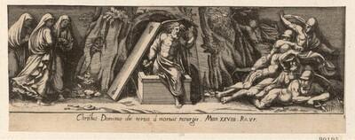 Auferstehung von Pietro Santo Bartoli