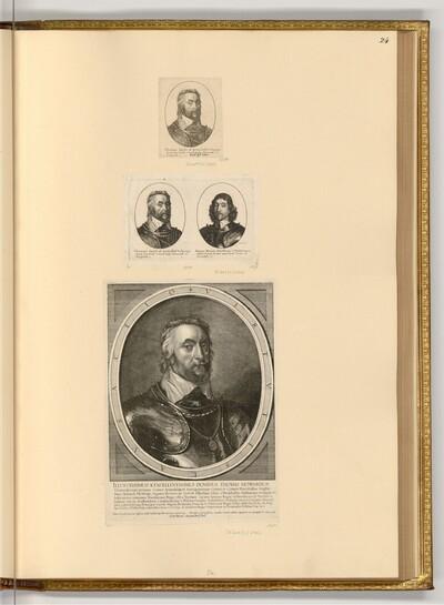 Porträts Thomas Howard, Earl of Arundel von Wenzel Hollar
