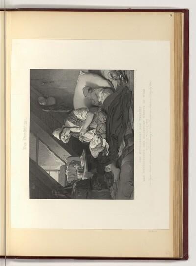 Wiener-Kunstvereinsblatt 1844, Das Dachstübchen von Tommaso Benedetti