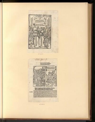 Diverse Szenen (Buchillustration) von Anonym