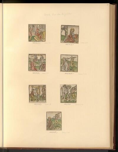Heiligenleben (Buchillustration) von Konrad Feyner