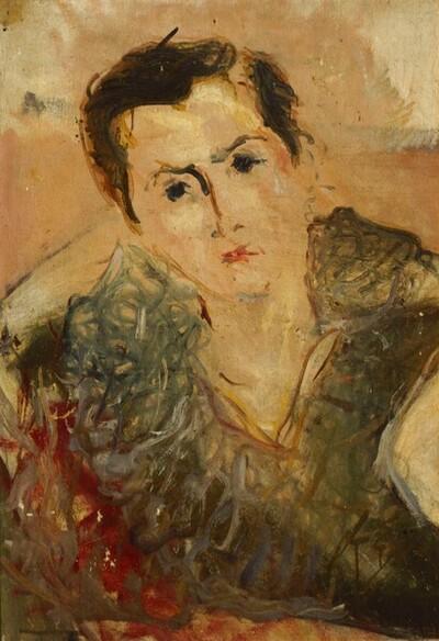 Frauenbildnis II von Jean Egger