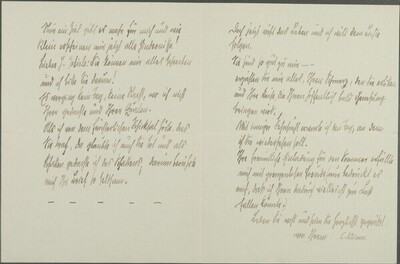 Brief von Carl Klima an Egon Schiele vom 11. Mai 1912 von Carl Klima