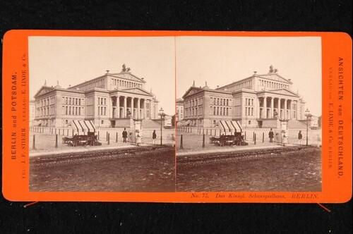 Das königliche Schauspielhaus in Berlin von Johann Friedrich Stiehm
