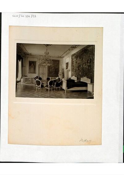 Interieur in der Wiener Hofburg von Heinrich Kessler