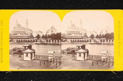 Weltausstellung in Paris 1878: Der Trocadero von Louis Emmanuel Alexandre Quinet