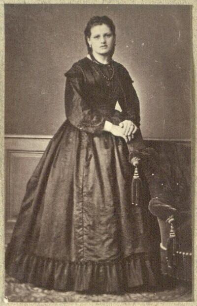 Damenporträt von Wenzel Weis