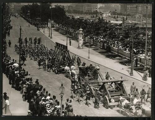 Kaiser-Huldigungs-Festzug in Wien 1908, VIII. Gruppe (Dreißigjähriger Krieg) von Louis Held