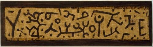 Ohne Titel (Schrift) von Paul Klee