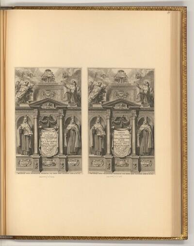 Crespin, François: Commentarii Tres in Universam Aristotelis Philosophiam, Titelblatt (Buchillustration); Thesis Theologica von Adriaen Lommelin